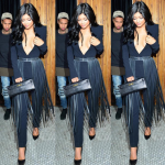 Kylie Jenner Loves A Fringe Fashion Moment