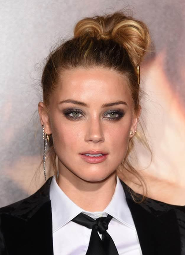 The Trick To Amber Heard's Rocker Makeup Moment