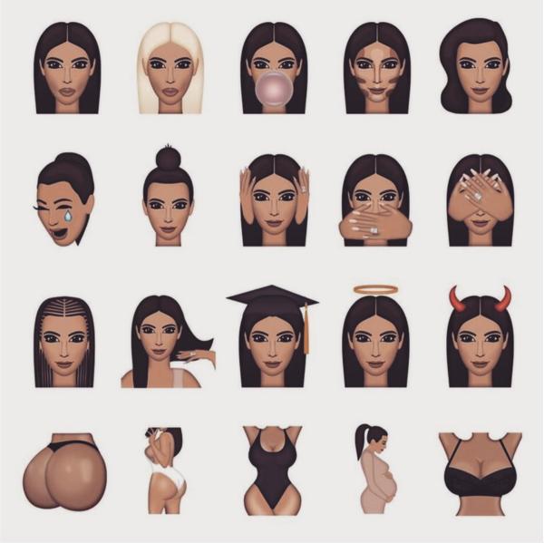 Kardashian Korrespondent: Kimojis Are Here