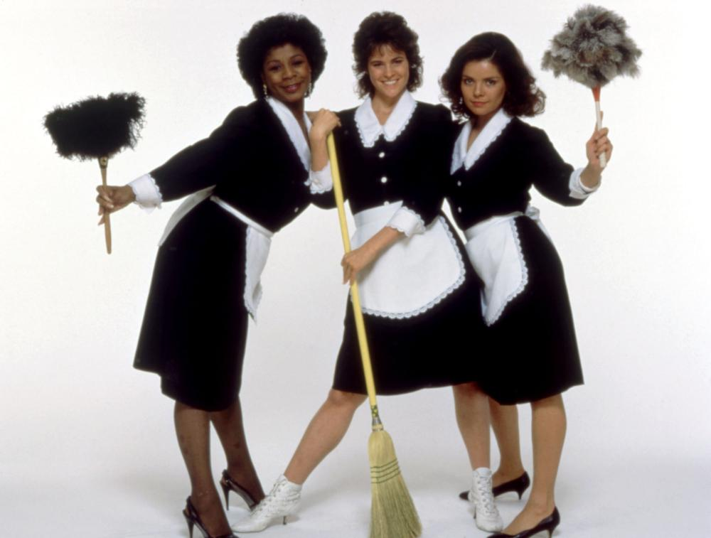 MAID TO ORDER, (l-r): Merry Clayton, Ally Sheedy, Begona Plaza, 1987, (c)New Century Vista Film Company