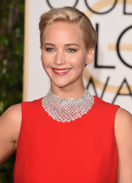 Golden Globes Beauty: Jennifer Lawrence's Makeup