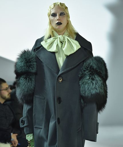 Going Goth And Gaga At Marc Jacobs