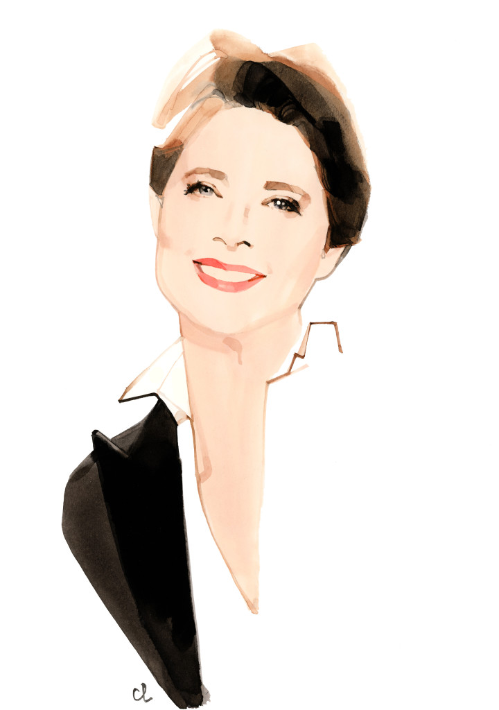 Isabella Rossellini - (c) Marc-Antoine Coulon for Lancôme