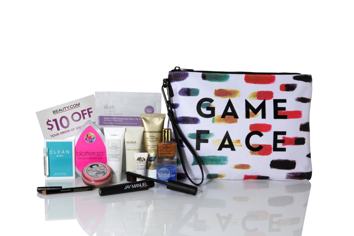 Beauty.com X MILLY Game Face Bag Series GWP
