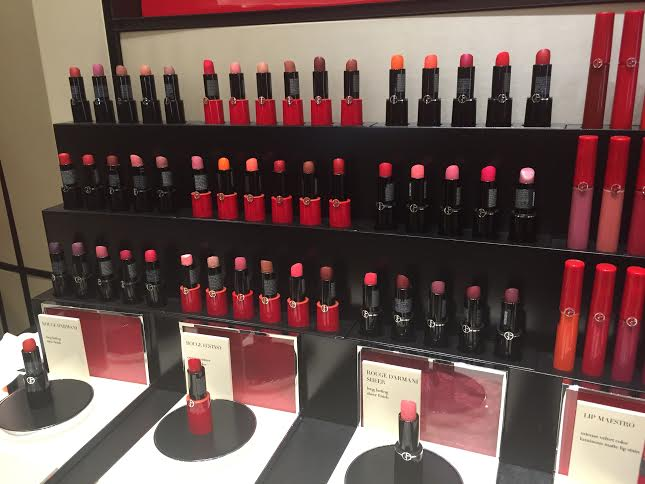 Giorgio Armani Beauty Opens New Beauty Shop & Spa At Bergdorf Goodman