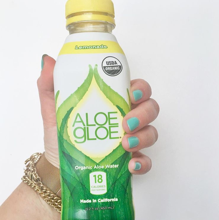 Hydrate From Within: Aloe Gloe