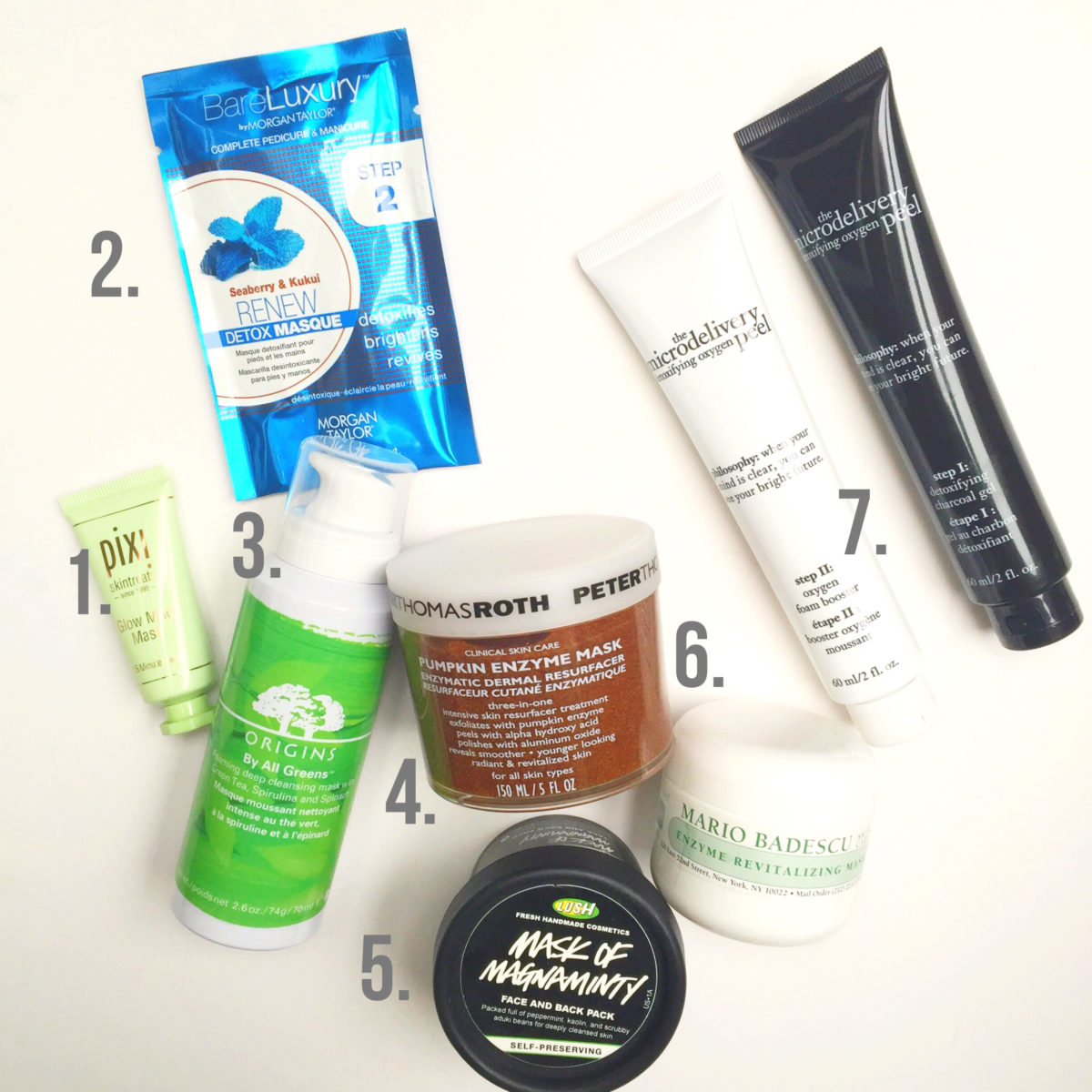 7 Must-have Masks