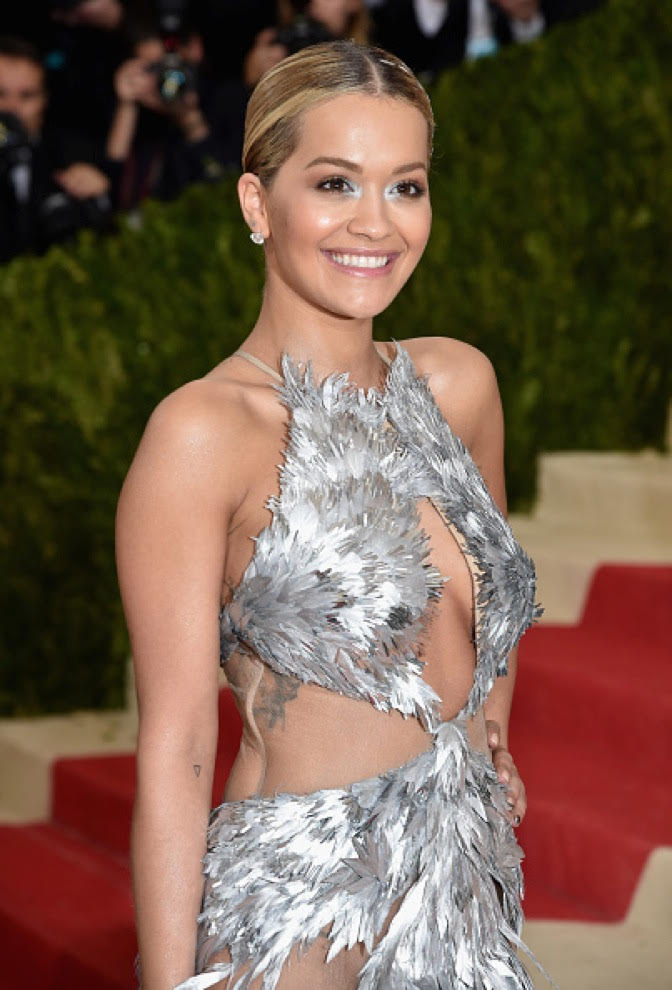 The Secret To Rita Ora's Metallic Goddess Met Gala Moment