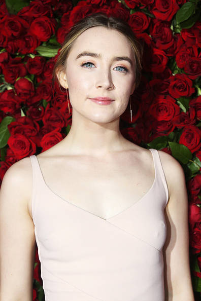 NEW YORK, NY - JUNE 12: Actress Saoirse Ronan attends the 70th Annual Tony Awards at The Beacon Theatre on June 12, 2016 in New York City. (Photo by Bruce Glikas/FilmMagic)