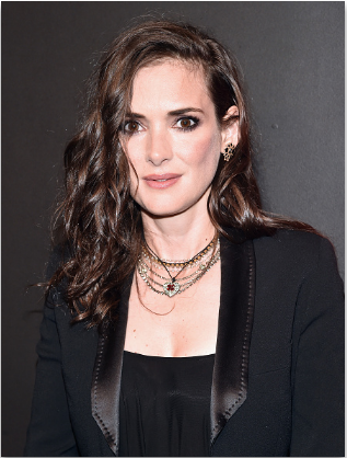The Trick To Recreating Winona Ryder's Super Shiny Waves