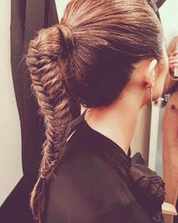 How To Recreate Olivia Culpo's Major Fishtail Braid