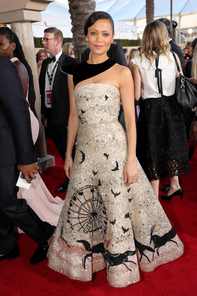 Thandie Newton's Modern Twist On Old Hollywood Style