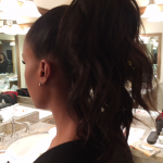 The Trick To Kerry Washington's Textured Ponytail