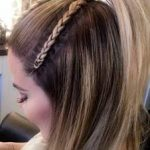 The Khloe Kardashian Half-up Braid Situation Everyone's Freaking Out About