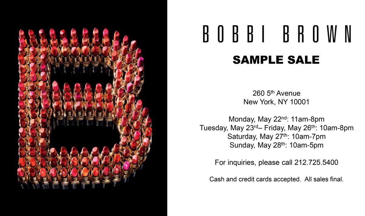 Bobbi Brown Sample Sale