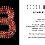 Bobbi Brown Sample Sale