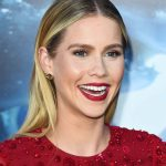 The Secret To Claire Holt's Center-Parted Sleekness