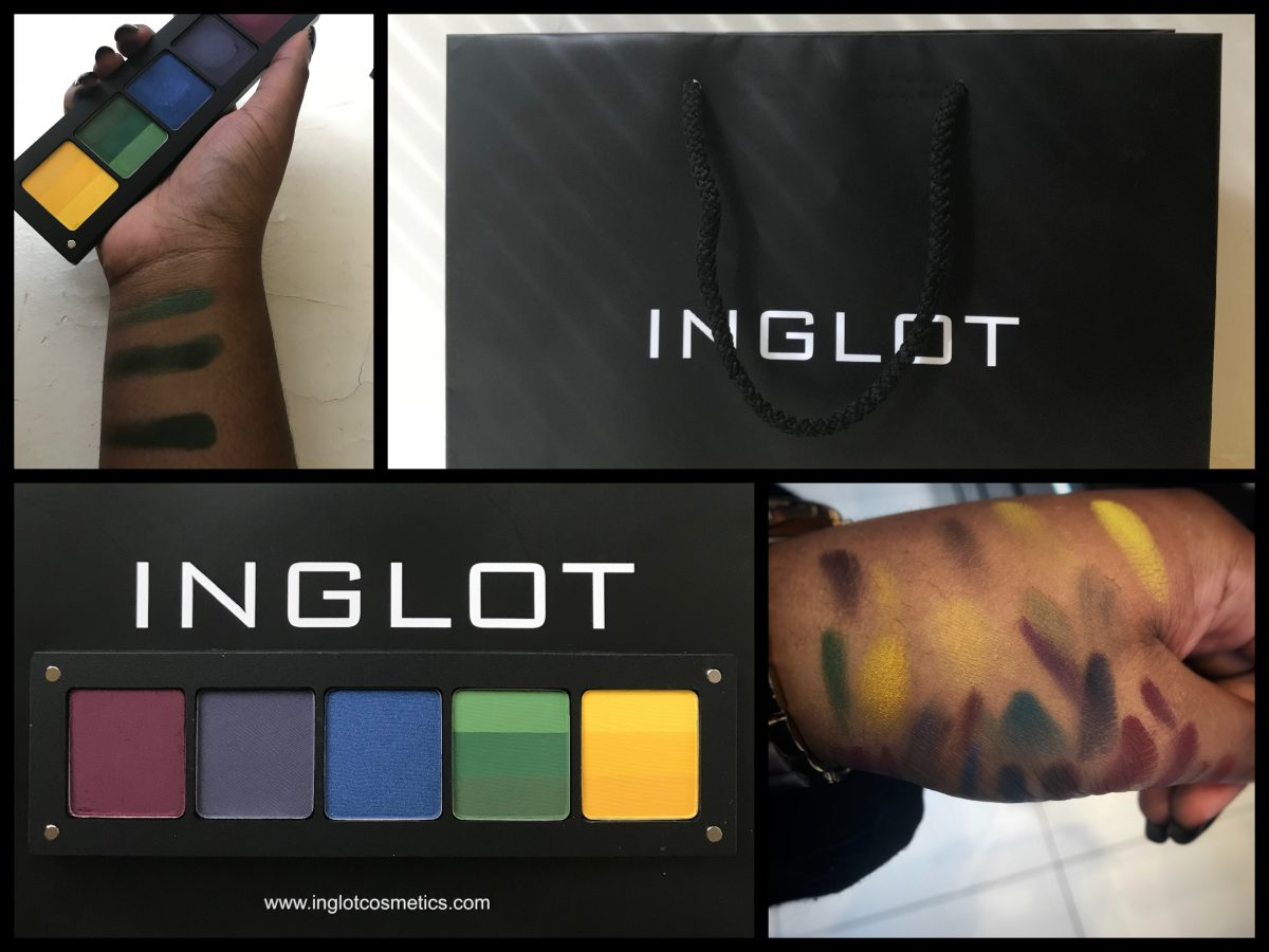 The Inglot Cosmetics Freedom Palette