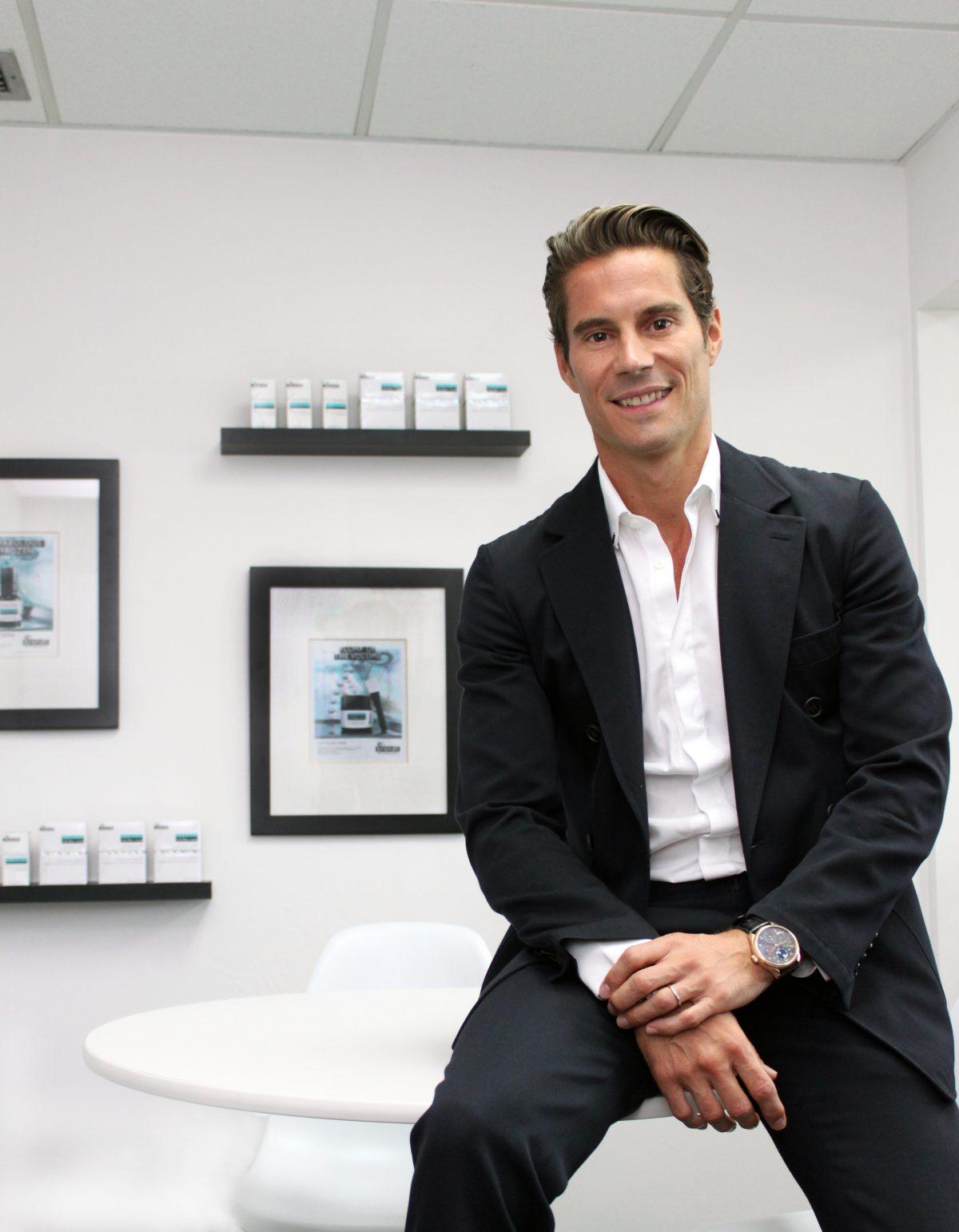 Stephane Colleu, CEO of Dr. Brandt Skincare