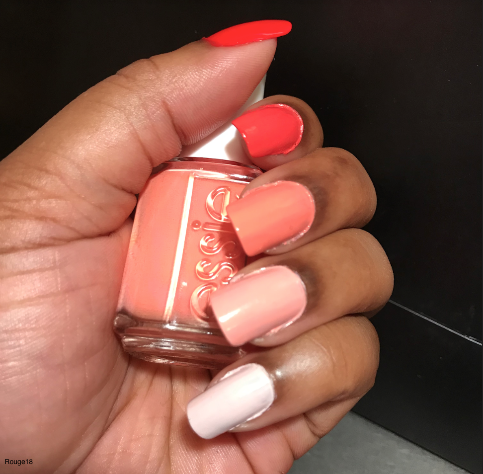 Mani of the Week: Coral Ombre