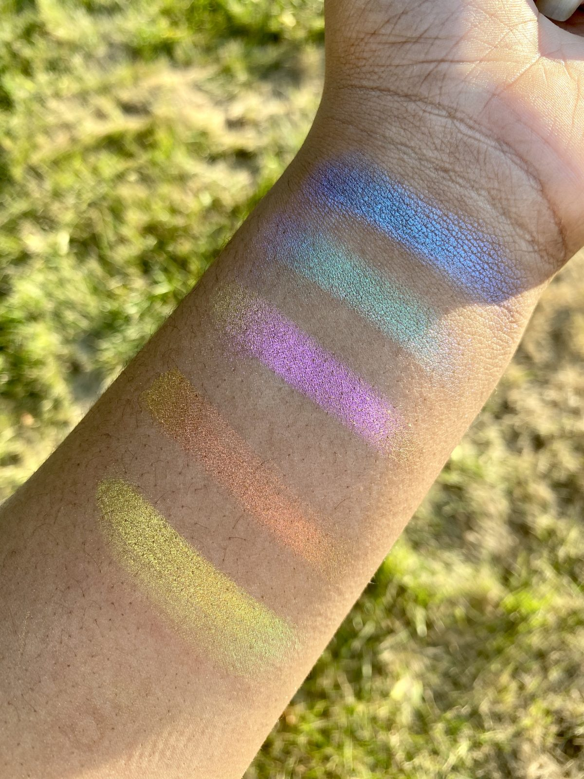 Finally! Iridescent Makeup for Deep Skin Tones