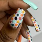 Mani of the Week: Groovy Dotticure with ORLY Day Trippin' Spring Collection