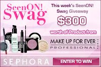 Win $300 worth of Make Up For Ever!