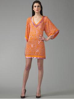 Blumarine Sequined Tunic Mini Dress