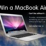 Win a Mac Book Air!