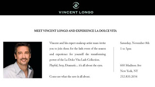 Meet Vincent Longo in NYC and LA!