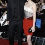Kristen Stewart and Robert Pattinson at the Twilight Premiere in L.A.