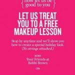 Get a Free Makeup Lesson at Bobbi Brown