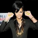 Rihanna Rocks Essie Shorty Pants