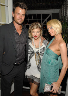 Glamourous Fergie at the Vanity Fair and Krug Dinner