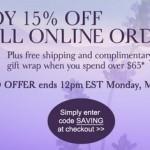 Enjoy 15% Off Online Orders at moltonbrown.com