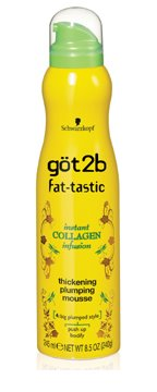 Get Fat-tastic with Got2b Fat-tastic Thickening Plumping Mousse