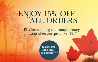 15% Off All Molton Brown Orders
