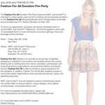 Felicia Sullivan's Fashion For All Donation Pre-Party!