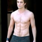 Shirtless Robert Pattinson