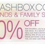20% off at Smashbox