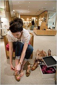 Cintra Wilson on The Barney's Shoe Sale