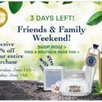 L'Occitane Friends & Family Weekend