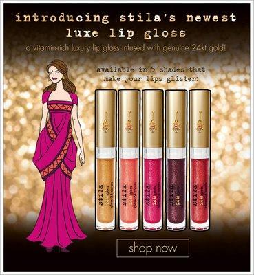 New From Stila: 24K Luxe Lip Glosses