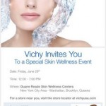Vichy Event at Duane Reade Locations in NYC