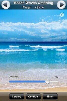 Beauty Sleep Savior: TM Soft White Noise Application for iPhone