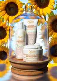New From Kiehl's: Sunflower Color Preserving Hair Care