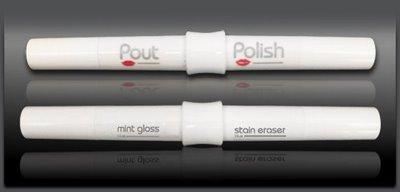 Doing Double Beauty Duty: Pout & Polish