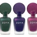 New From Zoya: MATTEVELVET Avita, Harlow and Veruschuka