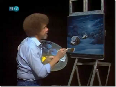 Particularly Pretty Palettes Worthy of Bob Ross