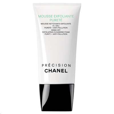 CHANEL MOUSSE EXFOLIANTE PURETÉ Exfoliating Cleansing Foam Purity + Anti-Pollution